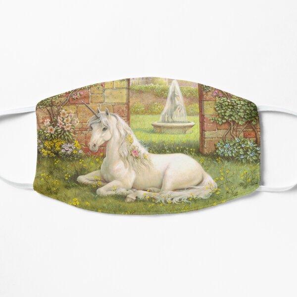 Unicorn Garden Flat Mask