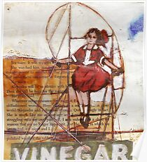 Melbourne Skipping Girl Poster
