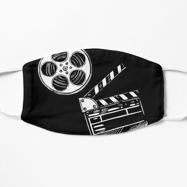 Movies, Film and Clapperboard Mask