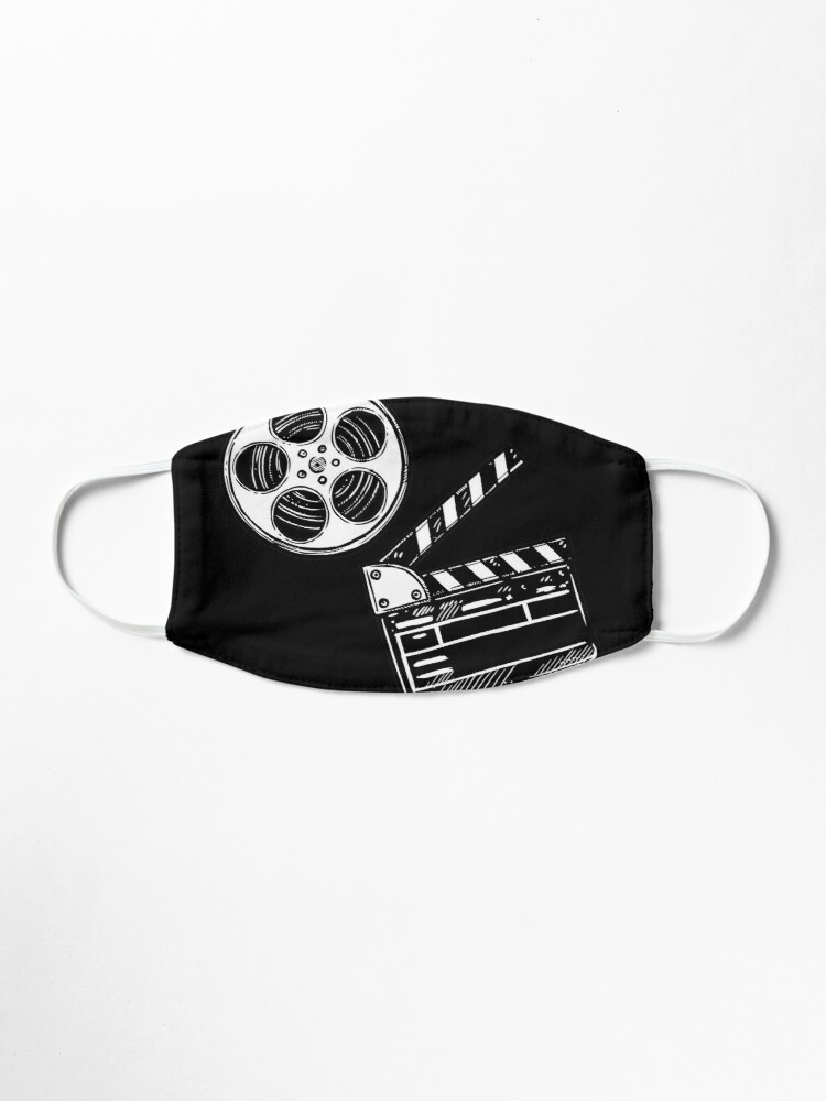 Alternate view of Movies, Film and Clapperboard Mask