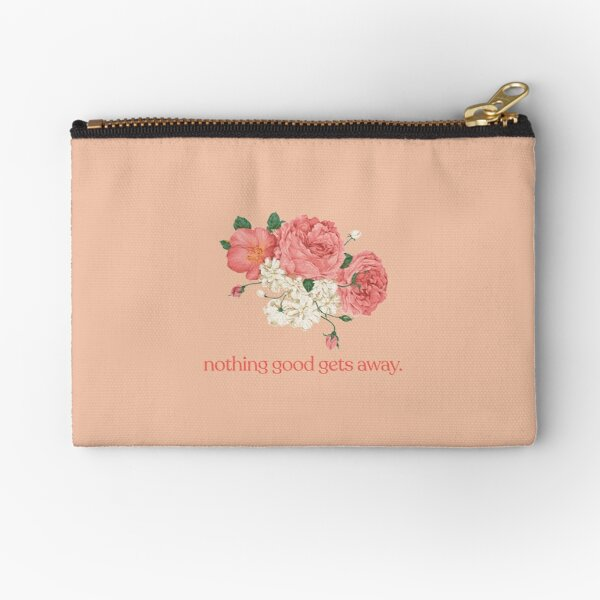 Nothing Good Gets Away Zipper Pouch
