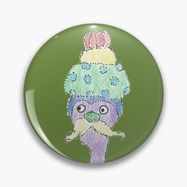 Rainbow Monster  Pin