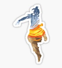 Korra and the Elements Sticker