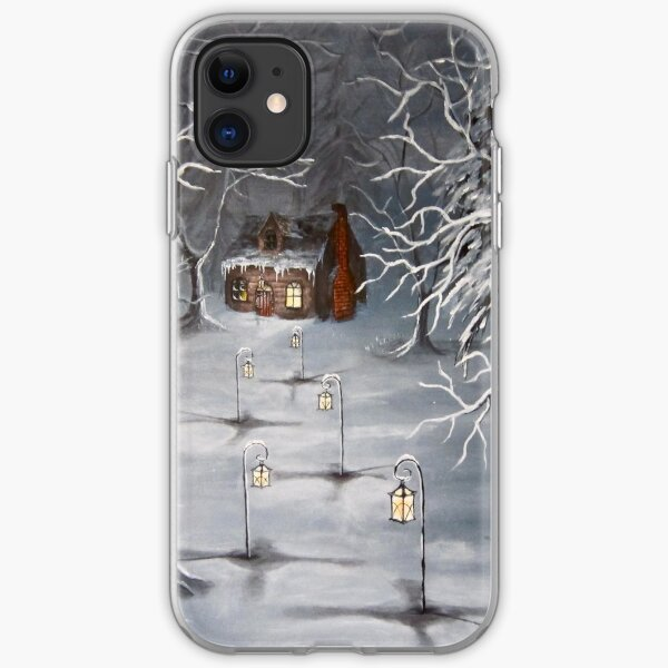 A Winter Haven iPhone Soft Case