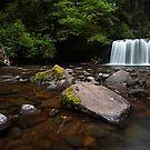 Upper Butte Creek Falls by Tula Top