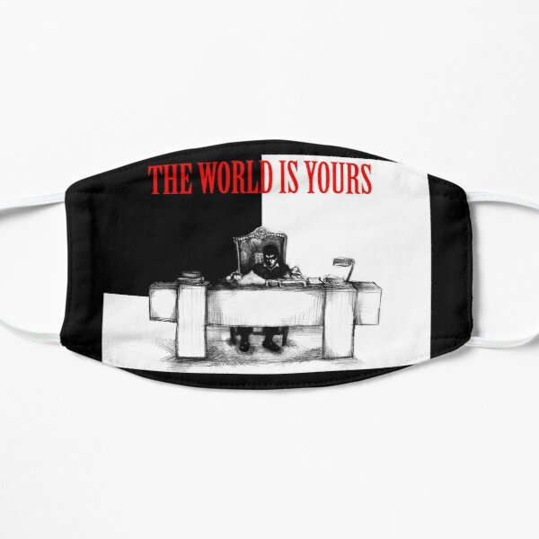 The World Is Yours Flat Mask
