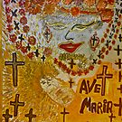 The Joyful Coptic Madonna and the Child . Hippie style. Be sure to wear flowers in your hair . God bless artists . Amen. Views: 640 *Featured Work in Painters Universe  by © Andrzej Goszcz,M.D. Ph.D