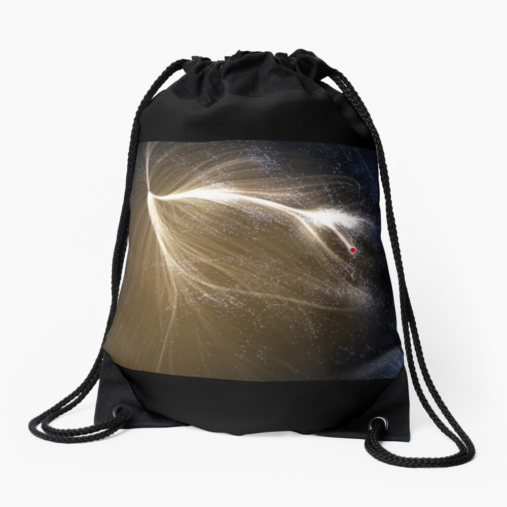Laniakea Supercluster, Cosmology, Astrophysics, Astronomy, drawstring_bag,x1000-pad,1000x1000,f8f8f8