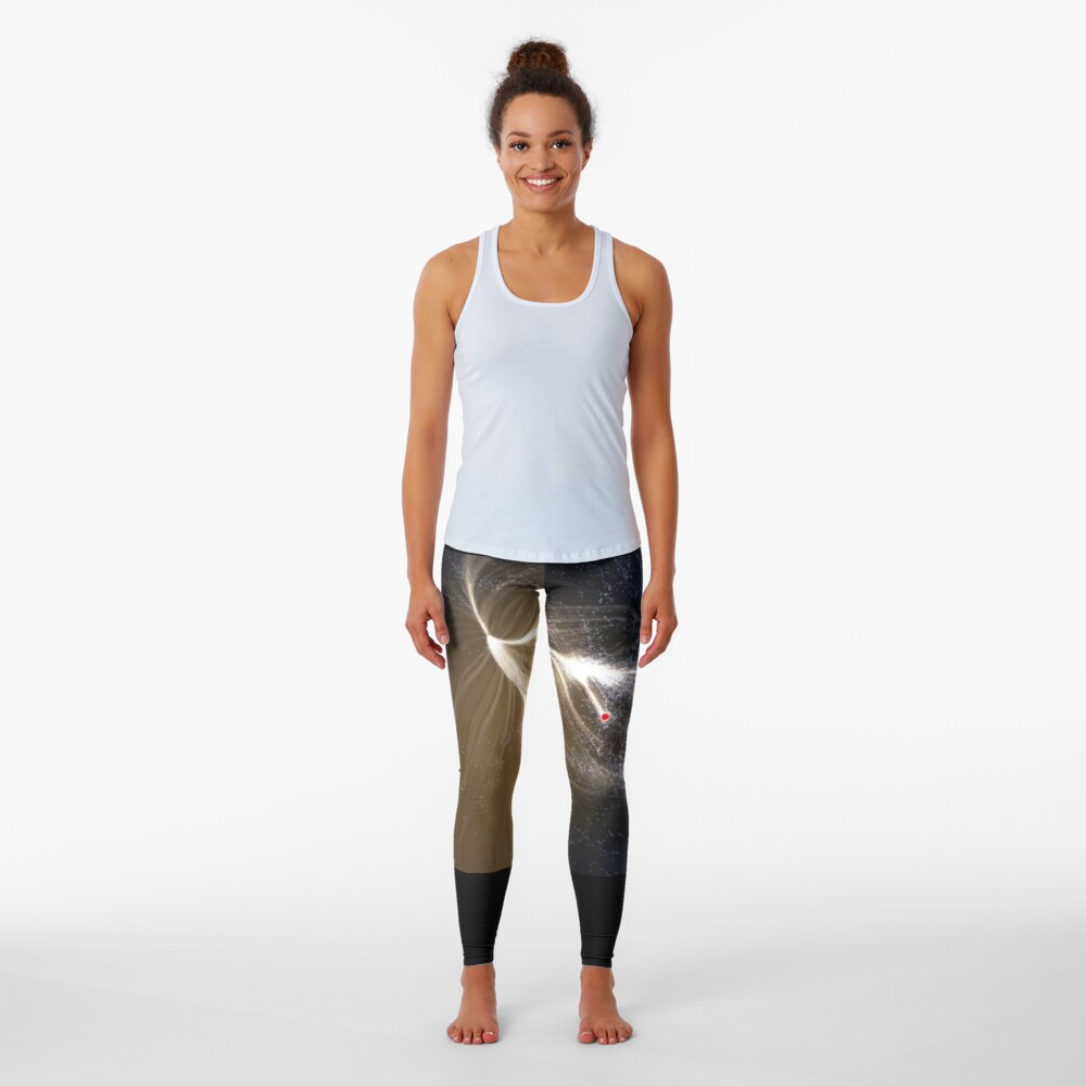Laniakea Supercluster, Cosmology, Astrophysics, Astronomy, ur,leggings_womens_front,square,1000x1000-bg,f8f8f8