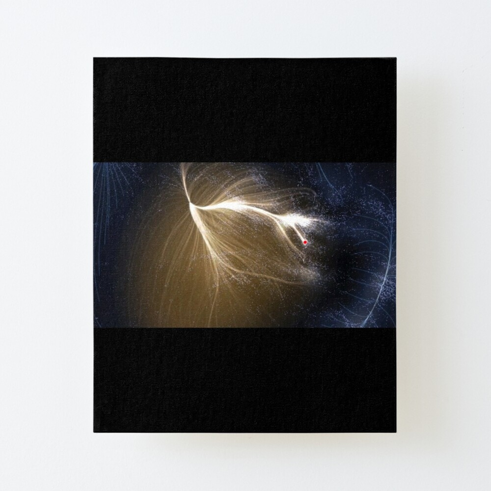 Laniakea Supercluster, Cosmology, Astrophysics, Astronomy, ur,mounted_print_canvas_portrait_small_front,square,1000x1000