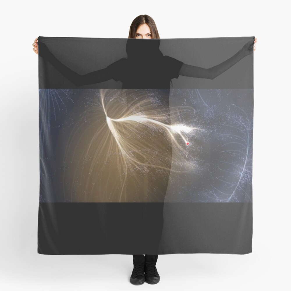 Laniakea Supercluster, Cosmology, Astrophysics, Astronomy, scarf,x1050-pad,1000x1000,f8f8f8