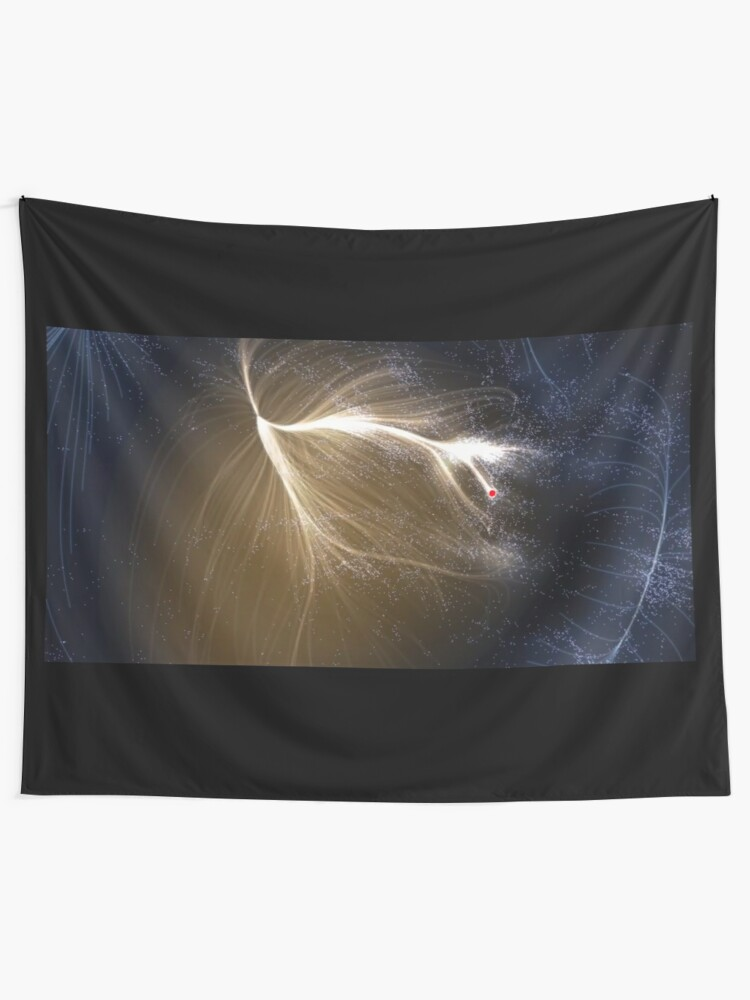 Alternate view of The #Laniakea #Supercluster, #Cosmology, #Astrophysics, Astronomy Tapestry