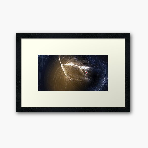 The #Laniakea #Supercluster, #Cosmology, #Astrophysics, Astronomy Framed Art Print