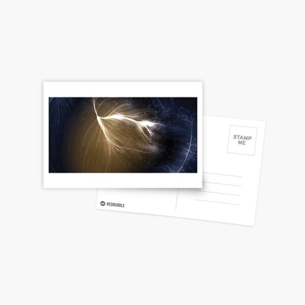 The #Laniakea #Supercluster, #Cosmology, #Astrophysics, Astronomy Postcard
