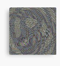 When Plaids Hallucinate #17 Canvas Print