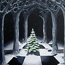 Christmas Cathedral by Aradia