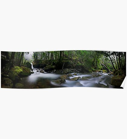 Meander Forest pan Poster