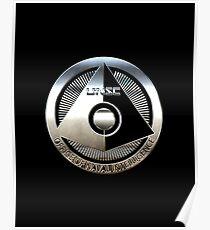 ONI - Halo Metallic Logo Poster