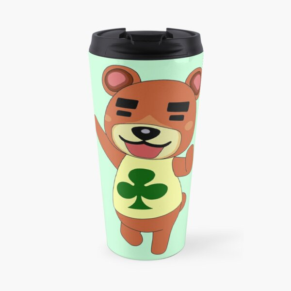 Teddy // Animal Crossing Travel Mug