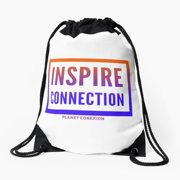 Inspire Connection Drawstring Bag