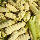 Lots of little corns - at the market by Marjolein Katsma