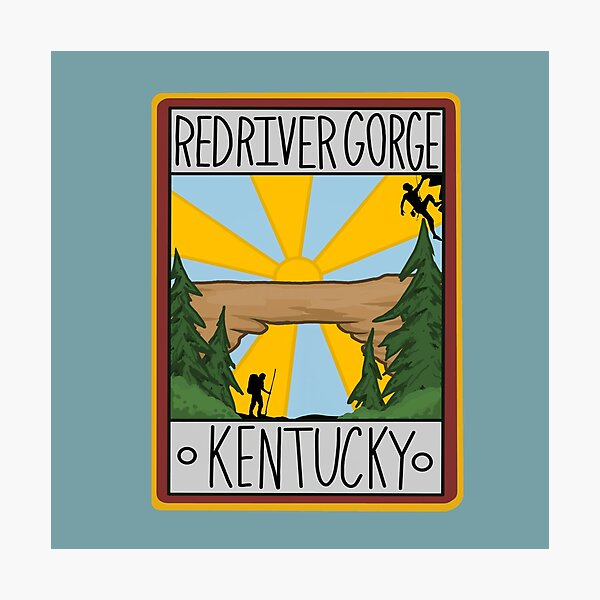 Red River Gorge Kentucky Graphic Photographic Print