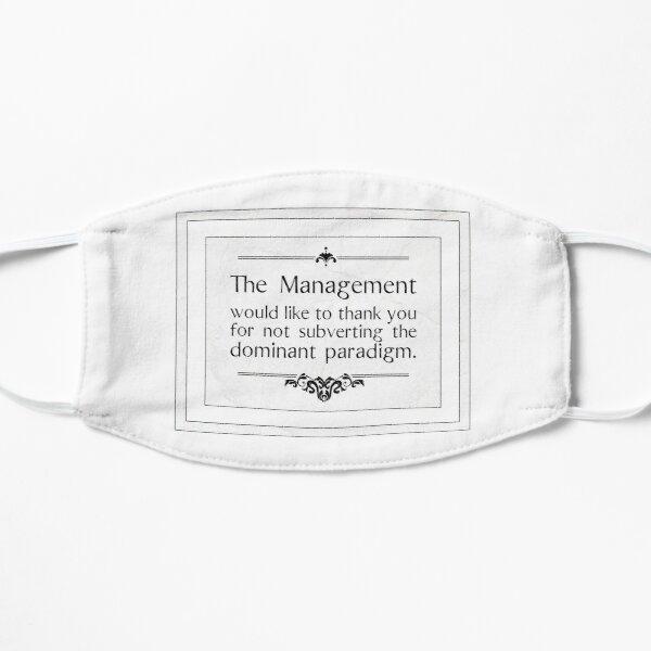 The Management Thanks You Mask