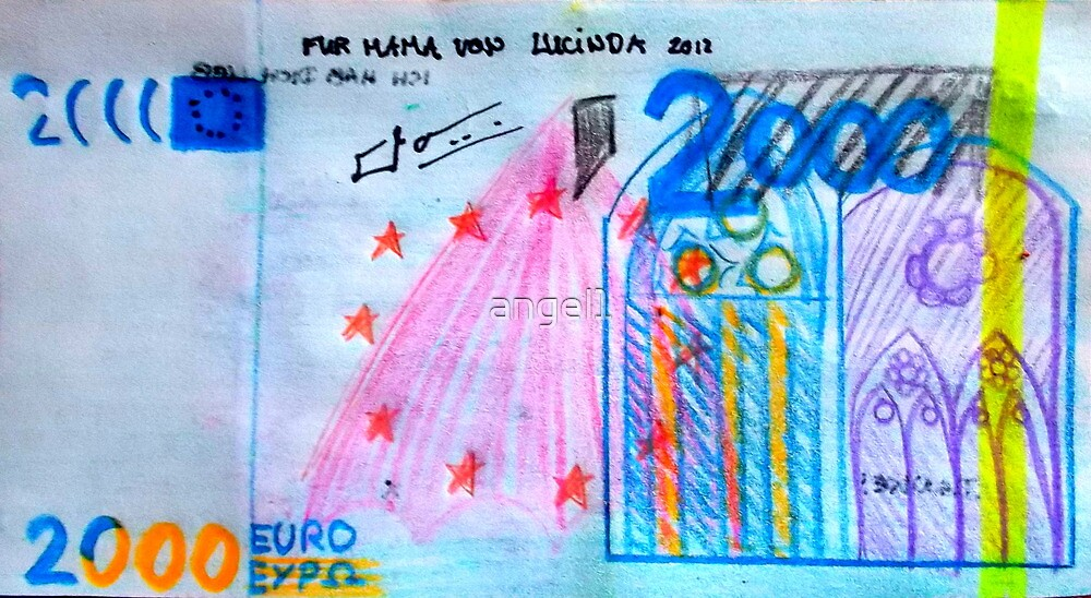 €2000 note  by ©The Creative  Minds