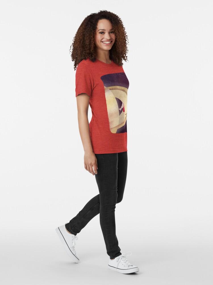 Alternative Ansicht von Saturn Kind Vintage T-Shirt