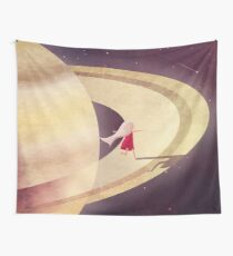 Saturn Child Wall Tapestry