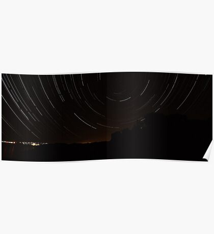 City startrail.. Poster