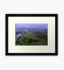 Arthur's Seat and Salisbury Crags Framed Print