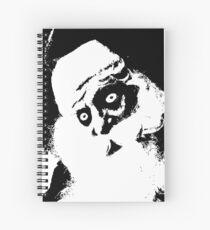 SCARY SANTA ***find hidden gems in my portfolio*** Spiral Notebook