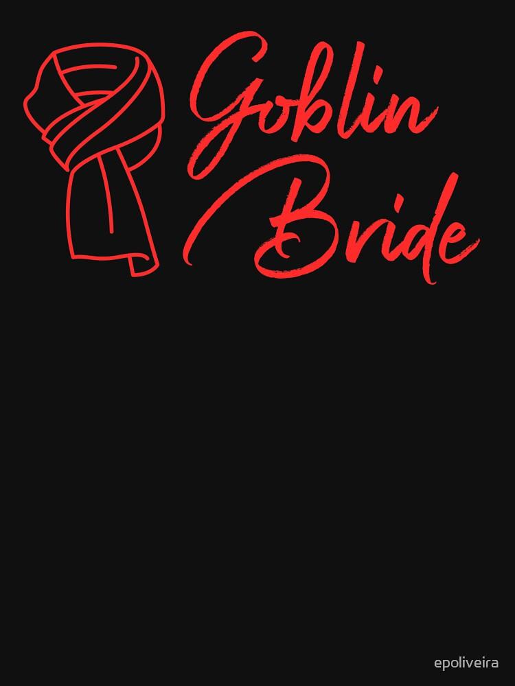 Goblin Bride K drama scarf by epoliveira