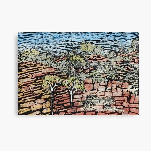 Cliffs, Hale River Canvas Print