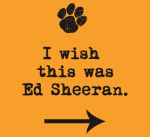 I wish this was Ed Sheeran