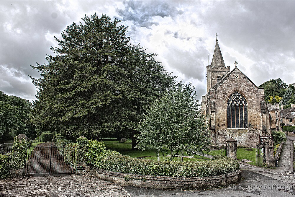 Trinity Church Bradford on Avon Wiltshire by Christopher Rafferty