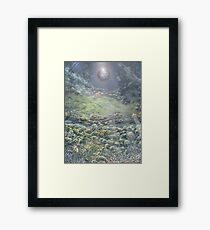 For showing signs and wonders Framed Print