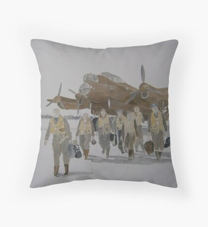 True Heroes/Ghosts of the Past Throw Pillow