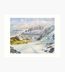 Winter on Cader Idris Art Print
