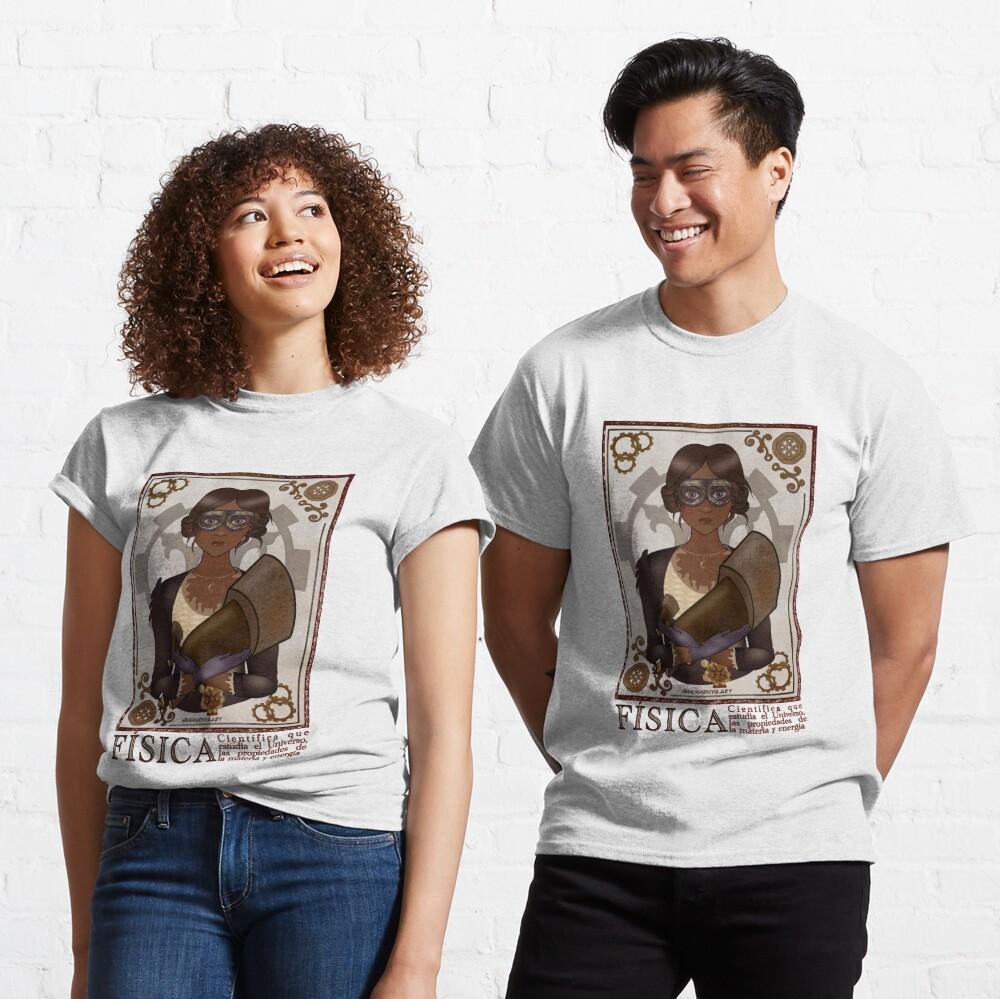 Fisica/Physicist (STEAMpunk Art) Classic T-Shirt