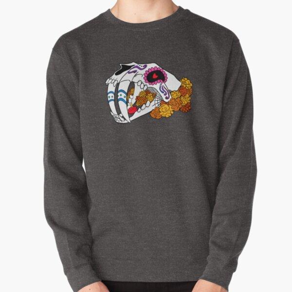 Sabertooth Sugar Skull Pullover Sweatshirt