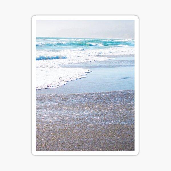 Picture Perfect Ocean Waves by Jerald Simon (Music Motivation - musicmotivation.com) Sticker