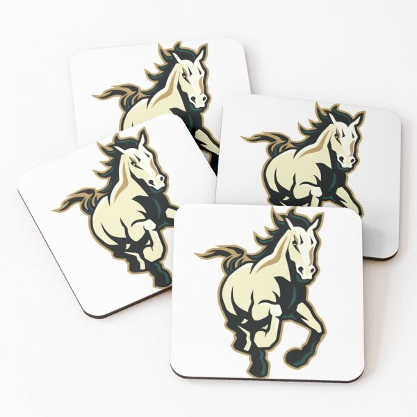 Mustang Coasters (Set of 4)