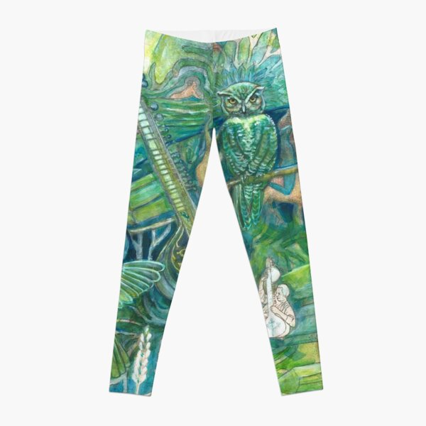 Emerald Wisdom Leggings