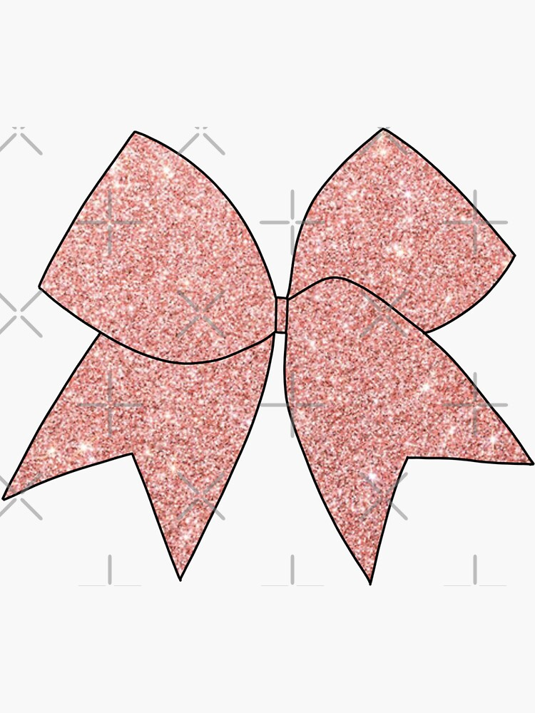 Glitter Cheer Bow by jaquemv