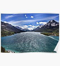 Waterton National Park Poster