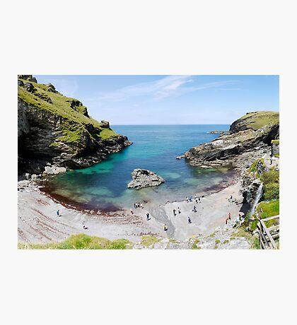 Tintagel Beach Photographic Print