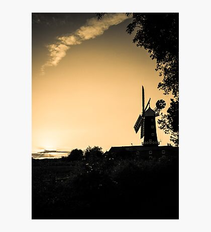 Windmill - untitled Photographic Print