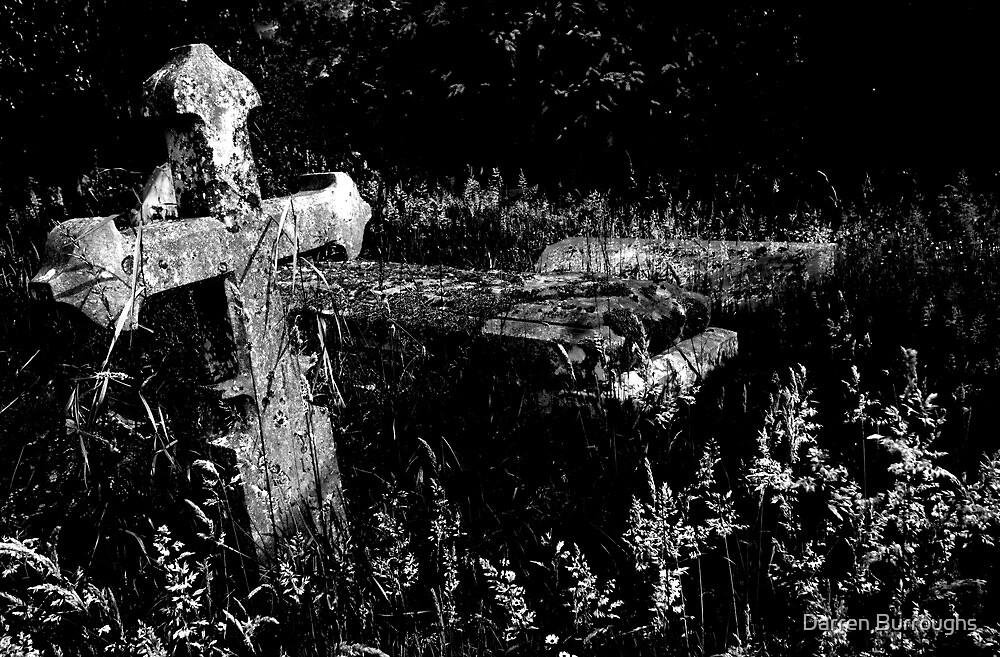 Forgotten Headstones by Darren Burroughs